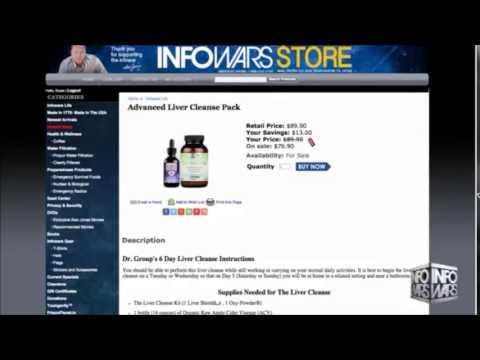 Infowars Liver Detox