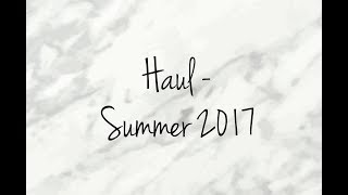 haul summer 2017 asos zara luisa via roma
