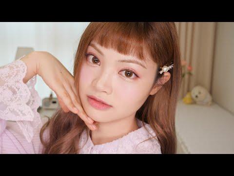 ENG)안 나가는 GRWM?🏠혼자 화장하면서 놀기/라벤더 메이크업 Chit Chat; Lavender Makeup/K Beauty