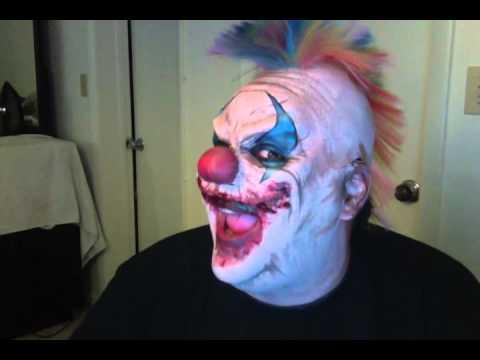 Scary Clown Sings Happy Birthday