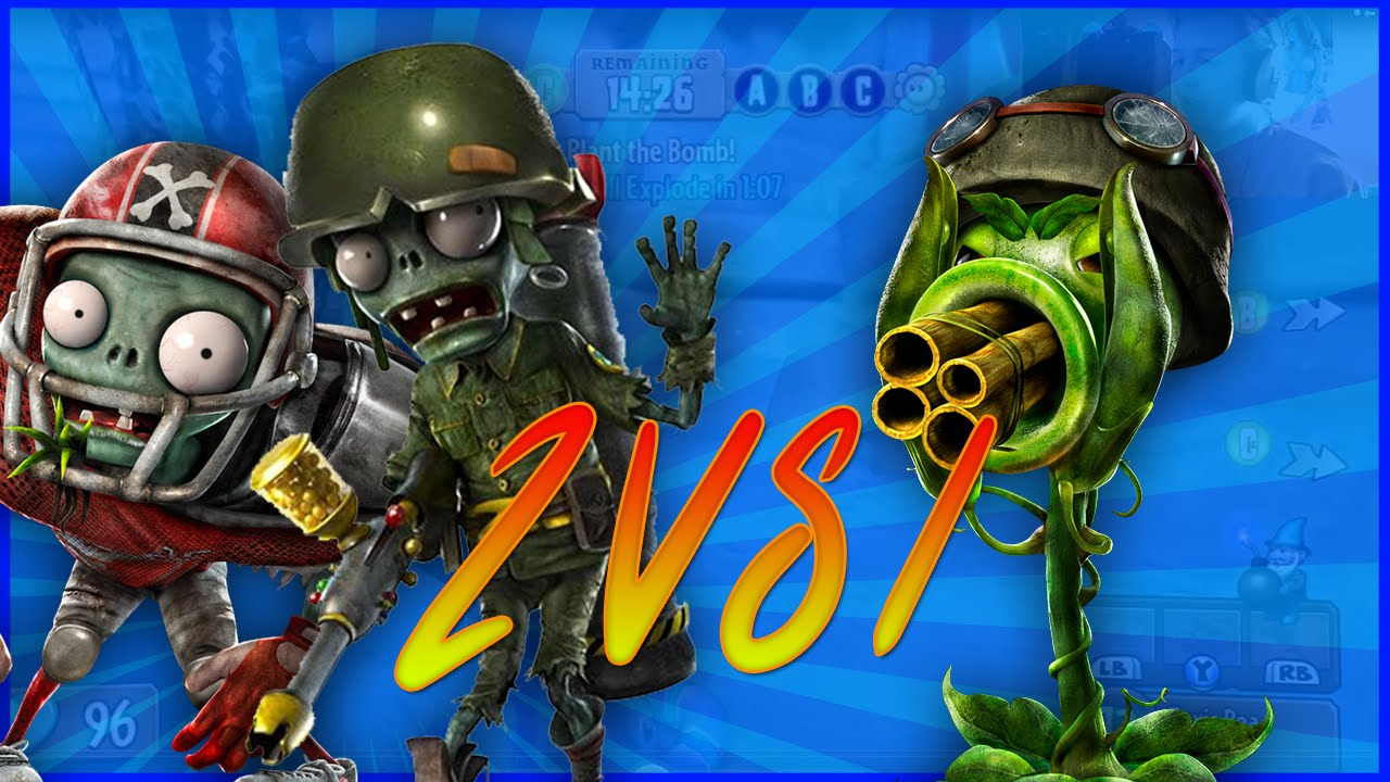 Plants Vs Zombies Garden Warfare 2 39 Gnome Bomb 39 Youtube