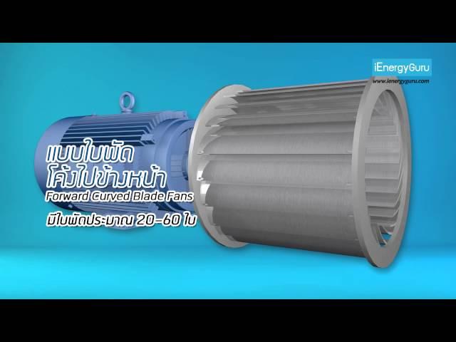 พัดลมอุตสาหกรรมไหลตามแกนพัดลมแบบแรงเหวี่ยง (ตอนที่ 1)