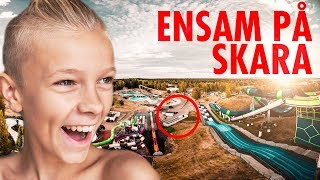 HELT ENSAM PÅ SKARA SOMMARLAND