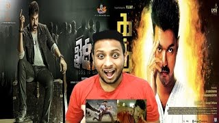 Khaidi No 150 & Kaththi Trailer I NorthIndian Reaction Review I Mega Star Chiranjeevi,Kajal,Vijay