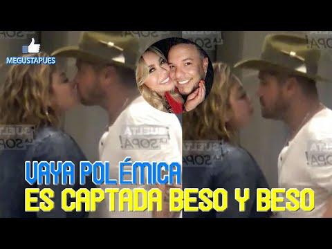 Chiquis Rivera agarradita de la mano y besándose con Mr Tempo