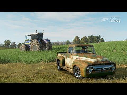 Forza Horizon 4| 422HP 1956 FORD F-100 [Farm Truck] [Rusty] thumbnail