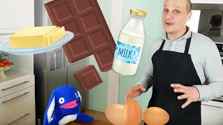 Children's cooking show with Moogoopi and chef Tony | Intro to cooking for kids, Pot au creme recipe