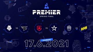 G2 vs Faze, Gaṁbit vs Complexity, BIG vs NAVI | BLAST Premier Spring Final Day 3