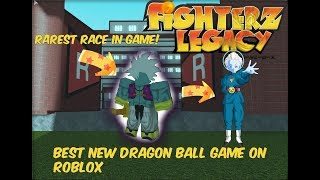 FIGHTERZ LEGACY| BEST DRAGON BALL GAME ON ROBLOX!! Rarest race Lesser Angel