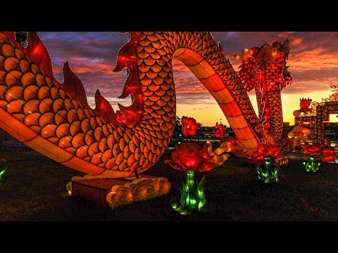 See what happens when you mix rainbows with Chinese Lanterns in Syracuse (video)