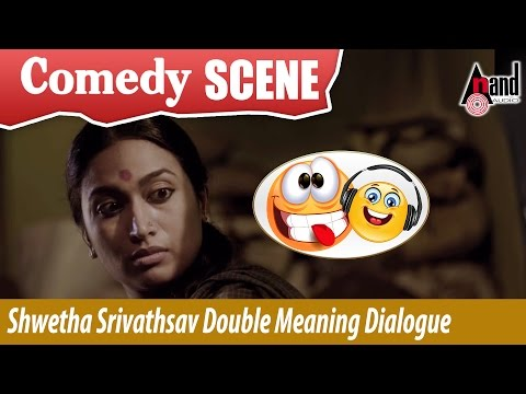 Shwetha Srivathsav double meaning dialogue...