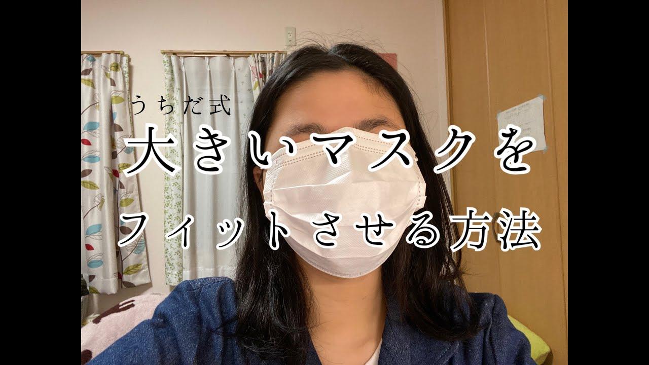 大きい マスク を 小さく する 方法