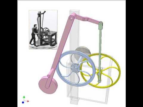 Hand powered machine