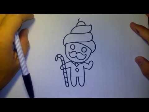 วาดการ์ตูน กันเถอะ สอนวาดรูป การ์ตูน คุกกี้ อาบัง จาก การ์ตูน คุกกี้รัน