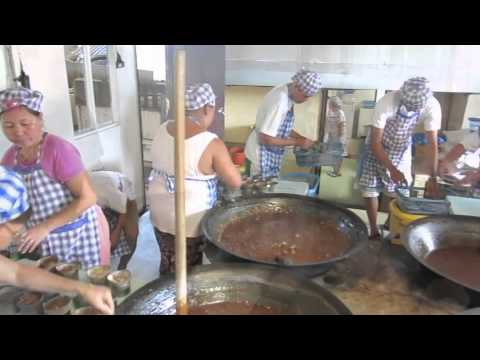 Local Filipino  - Making Calamay in Bohol