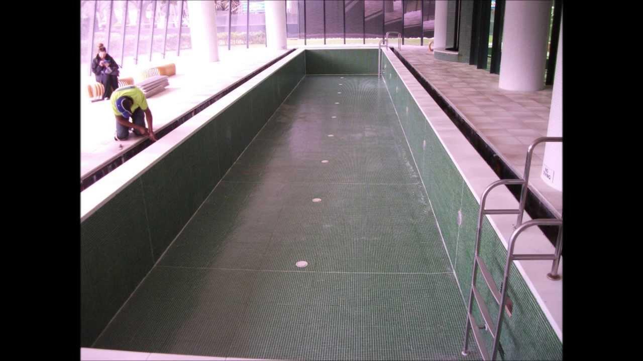 Swimming Pool Waterproofing Membrane : Melbourne swimming pool overflow waterproofing and