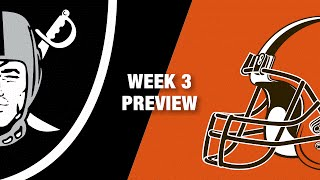 Raiders vs. Browns Preview (Week 3) | NFL