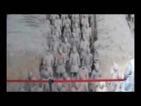 The Terracotta Warriors in Xi'an in China. Part 1 of 3