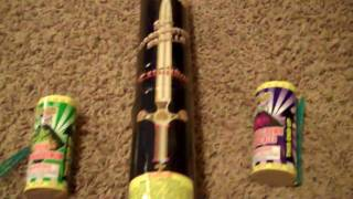 Fireworks Comparison: Mini Canister, Artillery, Critical Acclaim, and Excalibur Shells
