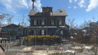 Fallout 4 Taffington Boathouse Water Purification Plant (No Mods)