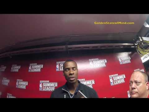 Jarron Collins Postgame Interview - Vegas Summer League