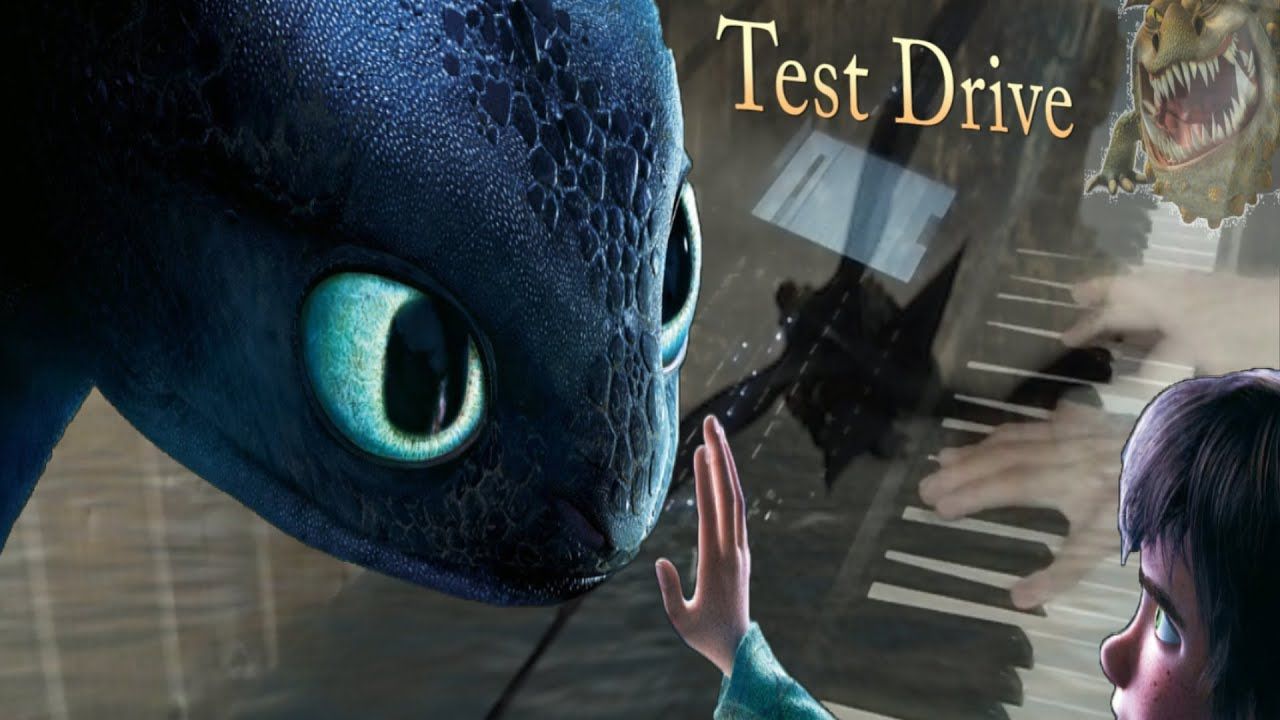 How to train your dragon test drive piano cover youtube ccuart Gallery