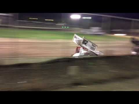 Grant Duinkerken 305 Sprint Car Main Event Win Ocean Speedway 8-25-18