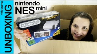 nintendo nes mini unboxing y gameplay en espaol   4k uhd