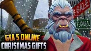 GTA 5 NEW Christmas DLC Gifts - Abominable Snowman, Naughty & Nice & More (GTA 5 New Update)