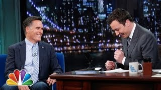 Mitt Romney Sets a Burger Summit with Jimmy (Late Night with Jimmy Fallon)