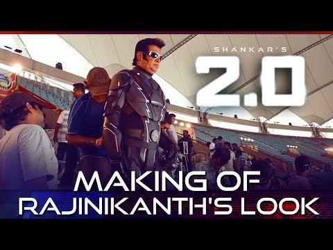 2.0   Making of Rajinikanth's Look   Akshay Kumar   A R Rahman   Shankar
