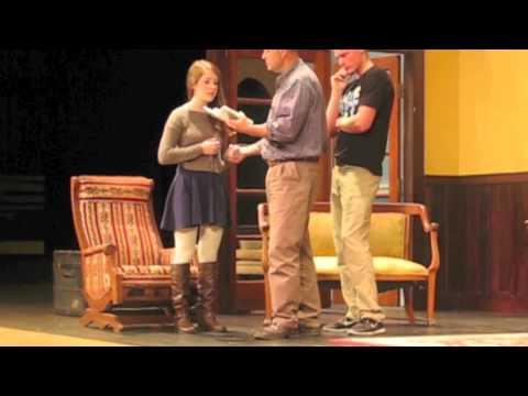 Spooner High School Senior Class Play - Behind the scenes