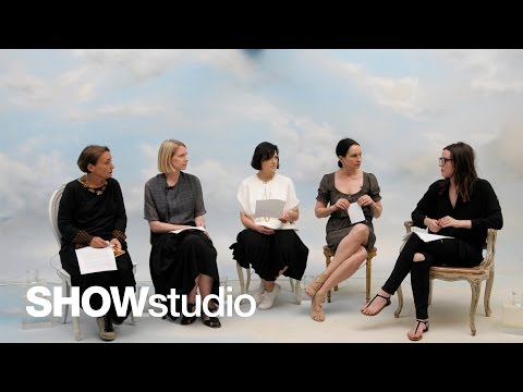 Christian Dior Haute Couture - Autumn / Winter 2015 Panel Discussion