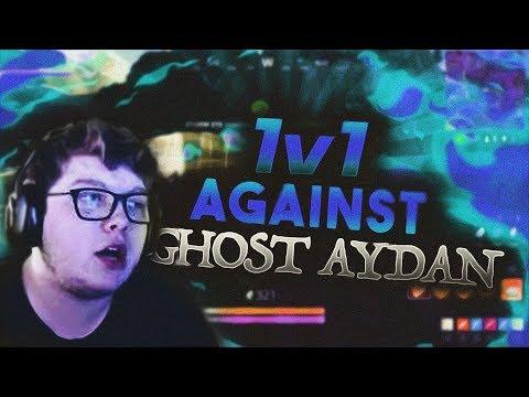 1v1ing Ghost Aydan! (Fortnite Battle Royale)