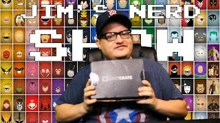 Lootcrate Unboxing - Jim's Nerd Show Episode 1!!!!