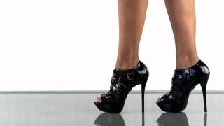 Bebe Shoes Regal in Black Patent
