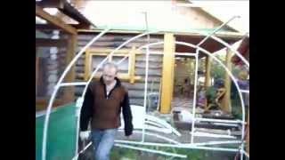 Каркас теплицы из профильной трубы от НПС .avi(, 2011-03-17T07:32:55.000Z)