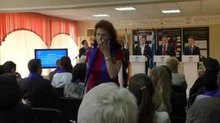Предварительное голосование: дебаты. Белово. 08.05.2016. 8-00(мск)