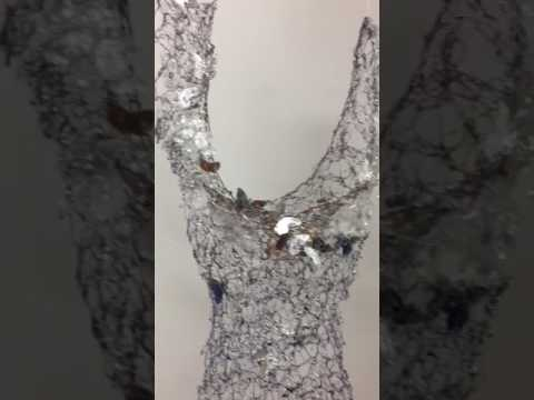 Wire Dress Sculpture