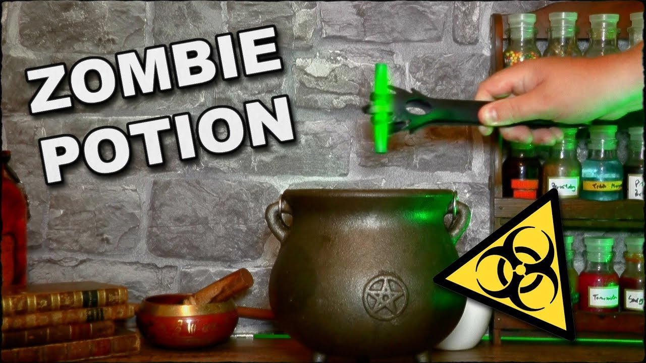 How to make a zombie potion youtube for Zombie build