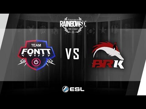 [R6] PRO LEAGUE - Season 3 - PC LATAM - BRK vs FONTT