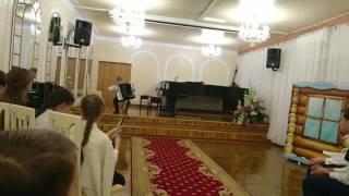 Фугетта, Валерий Кривенко, 3-й год обучения, 8 лет. Экзамен