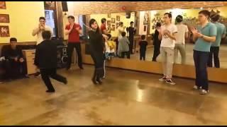 Обучение танцу Лезгинка в Алматы. Школа Лезгинки Ловзар. Эмирчик тащщит )