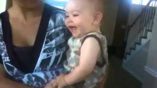 Baby Laughing at Retarded Running Horse (original)