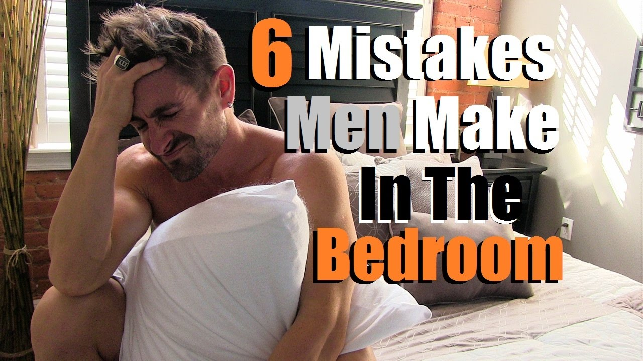 6 mistakes to avoid before sex