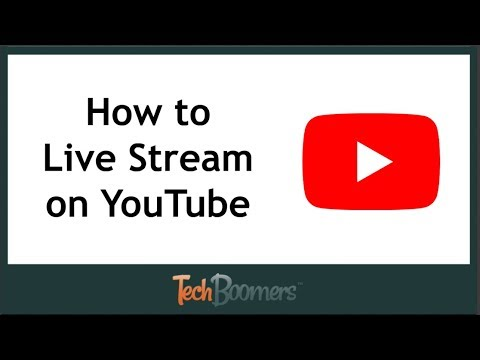 How To Live Stream On Youtube Youtube