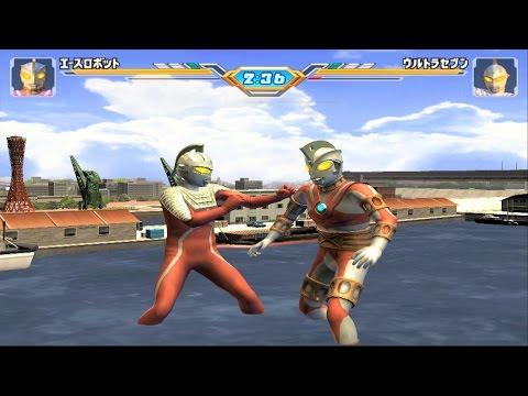 Sieu Nhan Game Play   Trận đấu Ultraman theo yêu cầu 21-12 #5   Game Ultraman figting eluvation 3