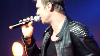 """Backstreet Boys. Foxwoods, CT. """"Quit Playing Games"""" Nick Carter's solo."""
