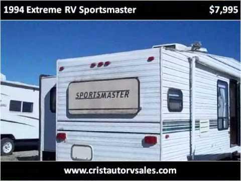 Ks Auto Sales >> 1994 Extreme RV Sportsmaster Used Cars Ottawa KS - YouTube
