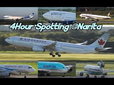 ☆4Hour full version☆ Narita Airport Marroudo Hotel View Landing&Takeoff @マロウド成田